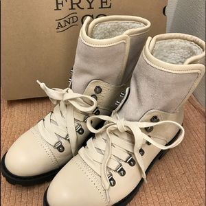 FRYE Leather Anise Hikers Brand New Sz 8